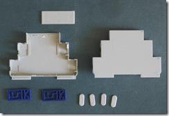 Корпус на DIN-рейку, 1 модуль