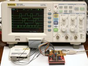 Эмуляция 3-проводного интерфейса на ATTiny2313