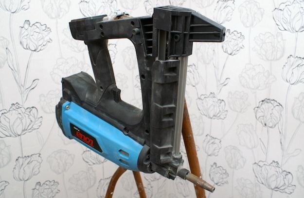 Газовый монтажный пистолет по бетону Toua GSN50 + ствол для электромонтажа