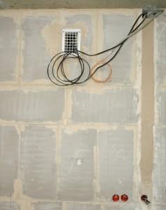 Электромонтаж в однокомнатной квартире