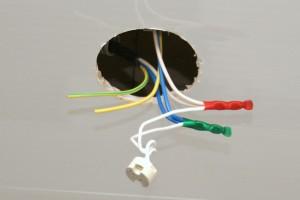 Монтаж светильников в подвесной потолок